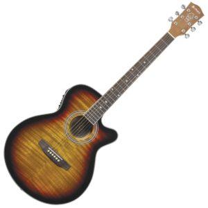 Chord CMJ4CE Electro-Acoustic Guitar - Sunburst