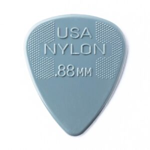 Dunlop Nylon Standard Guitar Plectrum 12 Pack 0.88mm - Front