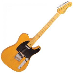 Vintage V52 Reissued Electric Guitar - Front