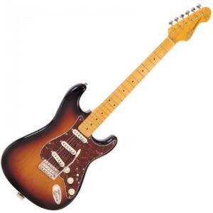 Vintage V6SSB Reissued Electric Guitar - Front