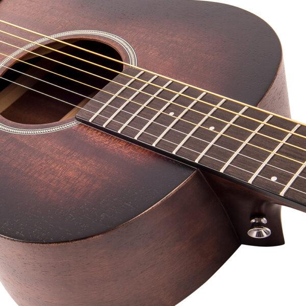 Vintage V880WK Paul Brett Statesboro' Parlour Acoustic Guitar - Neck