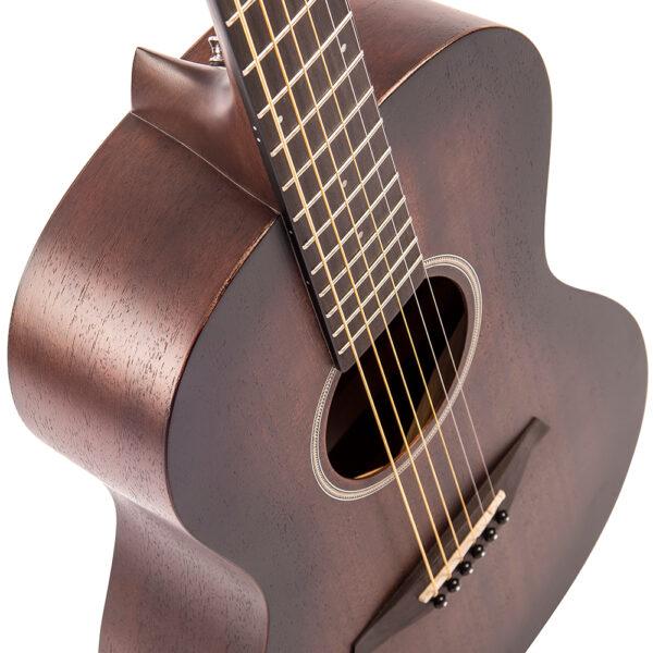 Vintage V880WK Paul Brett Statesboro' Parlour Acoustic Guitar - Body