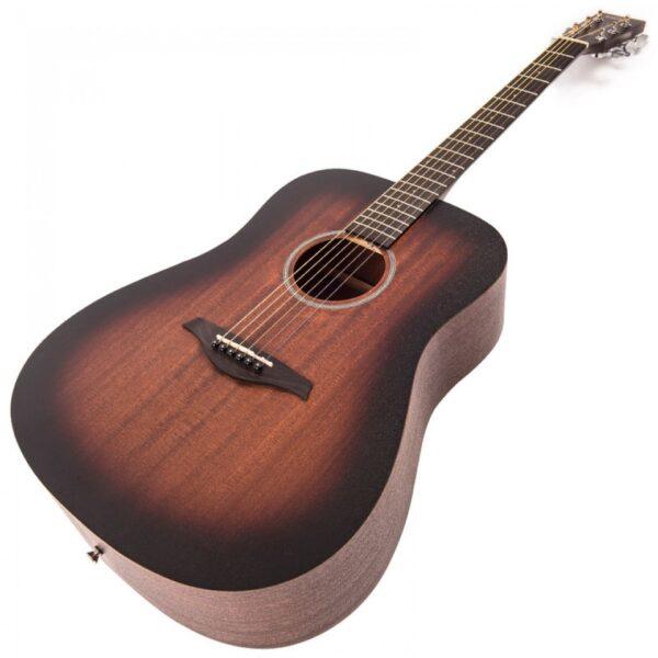 Vintage V440WK Paul Brett Statesboro' Dreadnought Acoustic Guitar - Body