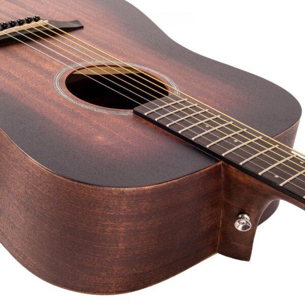 Vintage V440WK Paul Brett Statesboro' Dreadnought Acoustic Guitar - Neck Join
