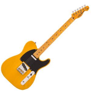 Vintage V52 Reissued Electric Guitar - Butterscotch