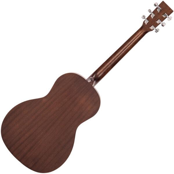 Vintage V880WK Paul Brett Statesboro' Parlour Acoustic Guitar - Back