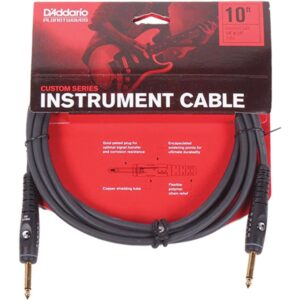 Planet Waves Custom Series Instrument Cable - 10ft/3m - PW-G-10