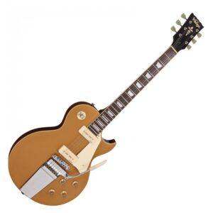 Vintage V100 Midge Ure Reissued Electric Guitar - Front