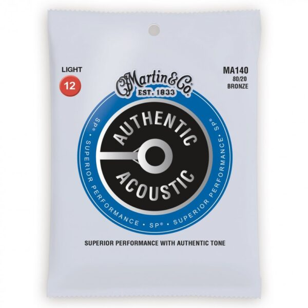 Martin MA140 Authentic Acoustic Guitar Strings
