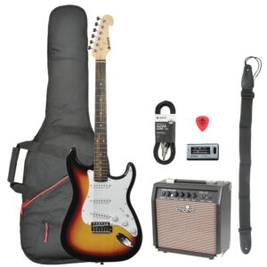 Chord CAL63 Electric Guitar Pack - Sunburst