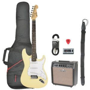 Chord CAL63 Electric Guitar Pack - Vintage White