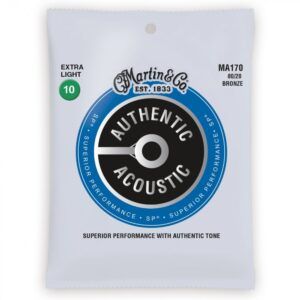 Martin MA170 Authentic Acoustic Guitar Strings