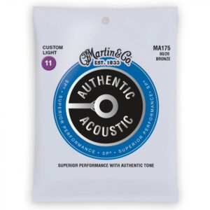 Martin MA175 Authentic Acoustic Guitar Strings