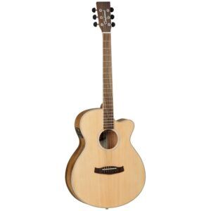Tanglewood DBT SFCE PW Electro-Acoustic Guitar - Front