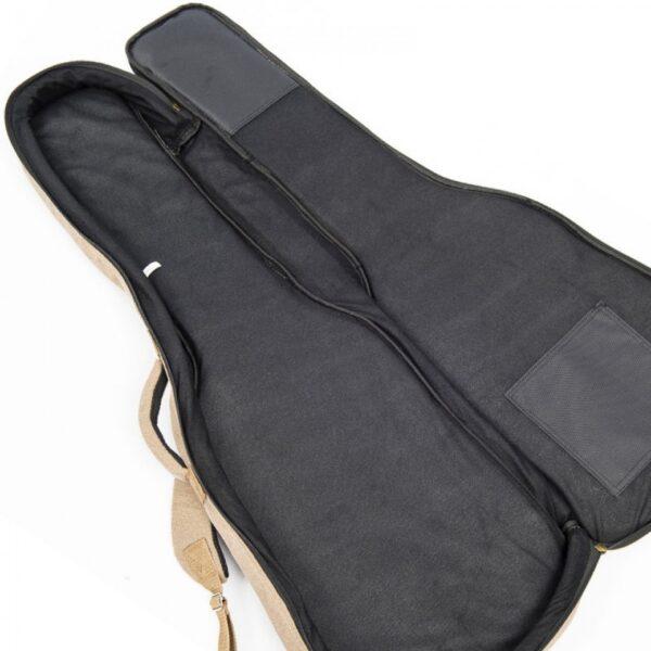 Vintage VCEG1 Canvas Electric Guitar Bag - Inside