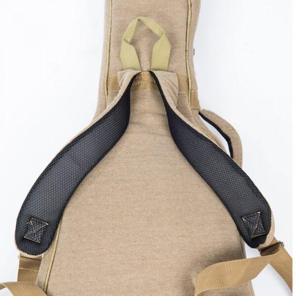 Vintage VCEG1 Canvas Electric Guitar Bag - Shoulder Straps