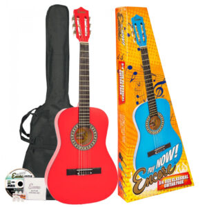 Encore 3/4 Size Classical Guitar Pack - Red
