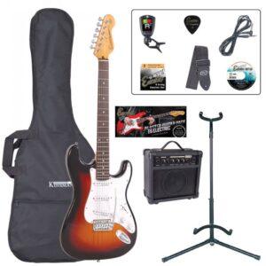 Encore E6 Electric Guitar Pack - Sunburst