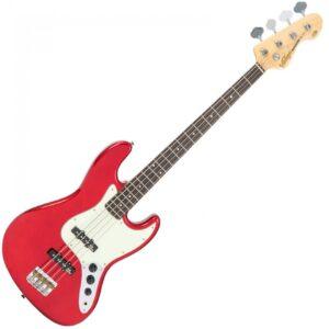 Vintage VJ74CAR Reissued Bass Guitar - Front