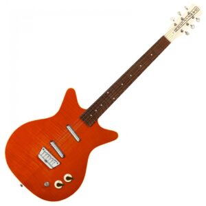 Danelectro 59 Divine Electric Guitar - Flame Maple - Front