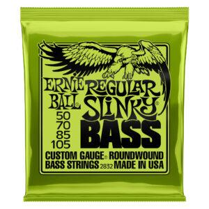 Ernie Ball Regular Slinky Bass Guitar Strings – 50-105