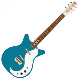 Danelectro DC59AM The Stock 59 Electric Guitar - Aquamarine - Front