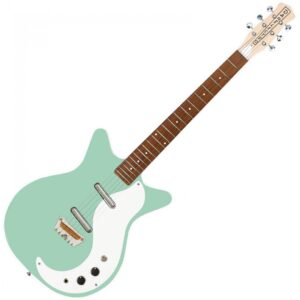 Danelectro DC59AQU The Stock 59 Electric Guitar - Aqua - Front