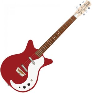 Danelectro DC59VRD The Stock 59 Electric Guitar - Vintage Red - Front