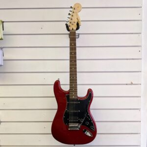 Squier Affinity Stratocaster HSS (Pre-Owned) - Candy Apple Red - Front