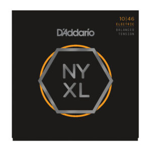 D'Addario NYXL1046 Electric Guitar Strings - Regular Light - 10-46 - Front