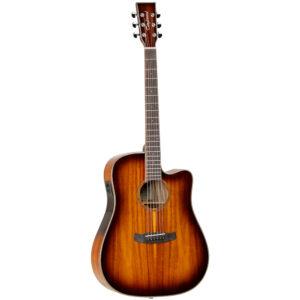 Tanglewood TW5 E KOA Electro-Acoustic Guitar - Front