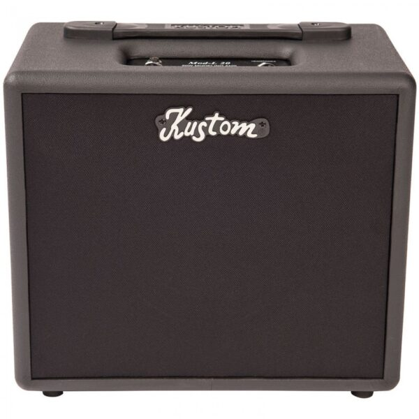Kustom KMOD20 Modelling Amp 1 x 8 with 24 Presets - Front