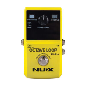 NUX Octave Loop Looper Pedal - Front