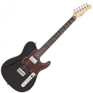 Fret-King Country Squire Semitone Electric Guitar - Black