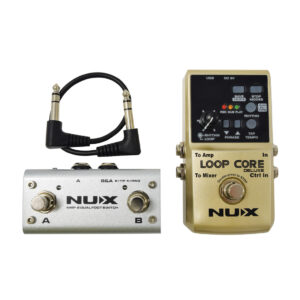 NuX Loop Core Deluxe 24-bit Looper Pedal Bundle