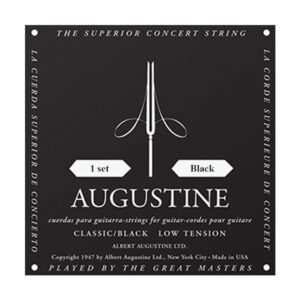 Augustine Classic Black Classical Guitar Strings