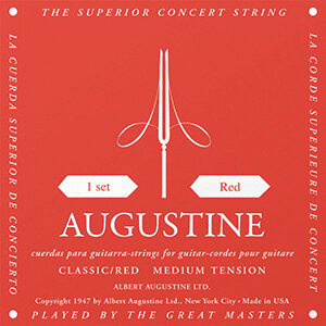Augustine Classic Red Classical Guitar Strings