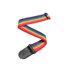 D'Addario Polypropylene Guitar Strap - Rainbow