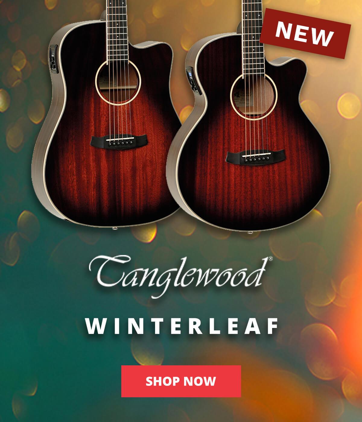 New 2021 Tanglewood electro-acoustics - shop now!