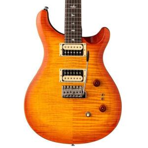 PRS SE Custom 24-08 Electric Guitar - Vintage Sunburst - Body